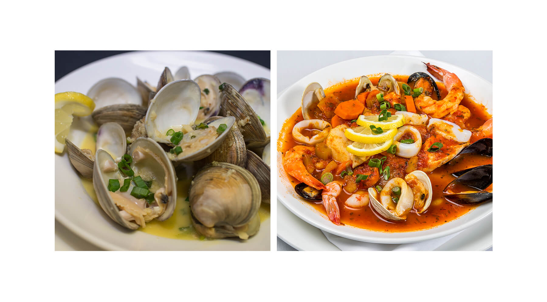 Fish and Shellfish Specialties